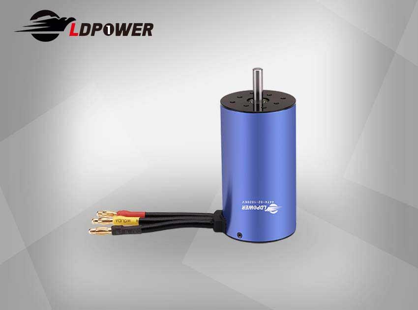 LDPOWER 4474-02-1020KV 1极  无感无刷内转电机 1:8 / 1:5  遥控车使用