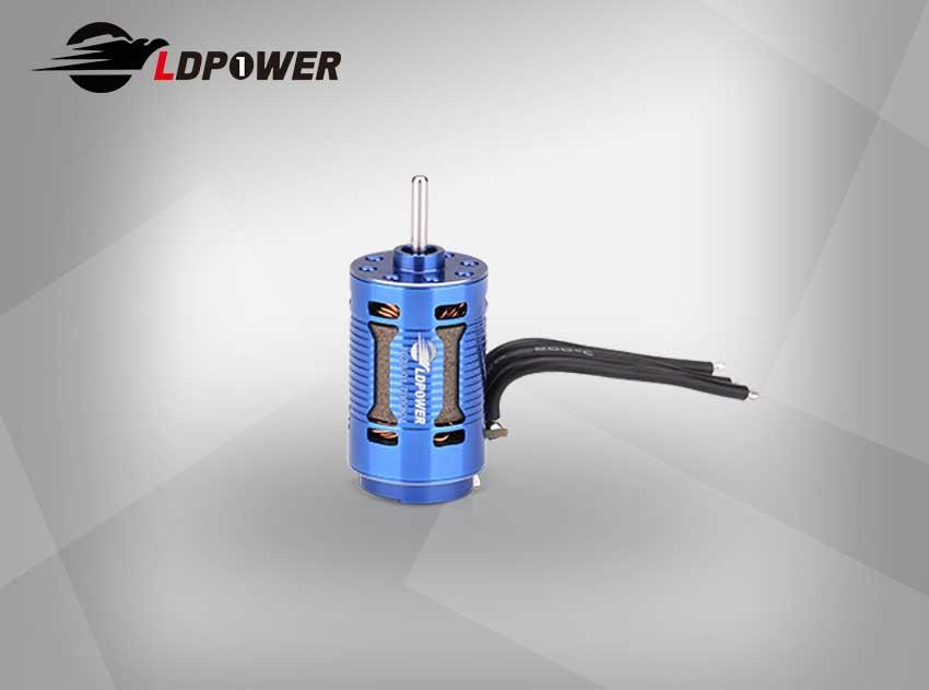 LDPOWER 1628-01-3700KV/7000KV 2极 有感无刷内转电机  1:24 / 1:28 遥控车使用