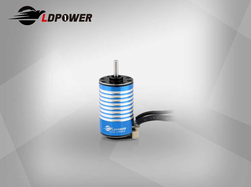 LDPOWER 1528-01-5500KV  2 pole sensored Inrunner brushless motor for 1:24/1:28  RC car